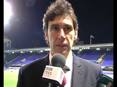 YouTube video: Aitor's Post-Match Reaction: Ipswch Town