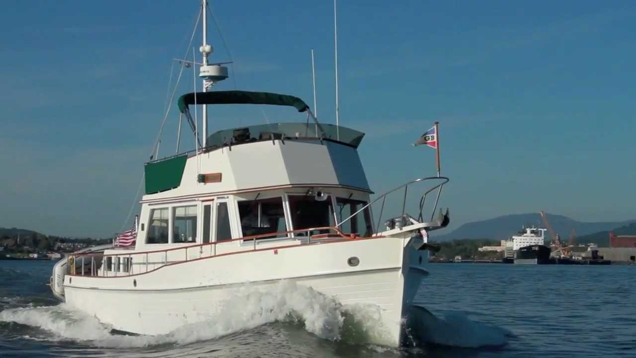 GRAND BANKS 42 CLASSIC YACHT YouTube