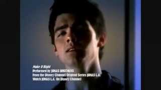 Watch Joe Jonas Make It Right video
