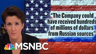 Mueller's Cohen Filing Points To President Trump's Role In Criminal Scheme | Rachel Maddow | MSNBC
