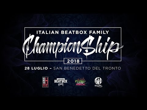 JBeat Vs Rask  Final  Italian Beatbox Championship 2018
