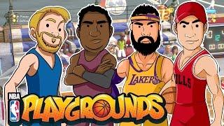 Torneo de Humildes Alka vs Wero | NBA PLAYGROUNDS |