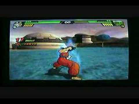 Dragon Ball Z BT3 Wii version control instructional