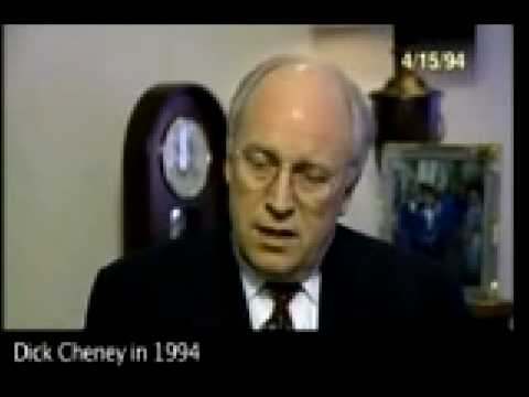 Dick Cheney predicts the future of Iraq?!