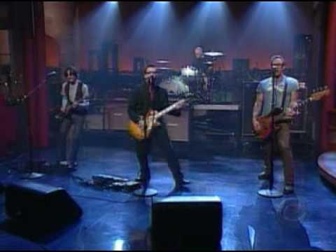 Weezer - Keep Fishin on Letterman #1