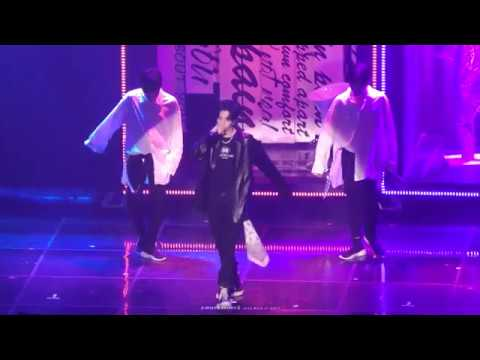 """[4K Fancam] 180505 EYES ON YOU IN SEOUL """"Think About It"""" GOT7(갓세븐) 마크(MARK)focus"""