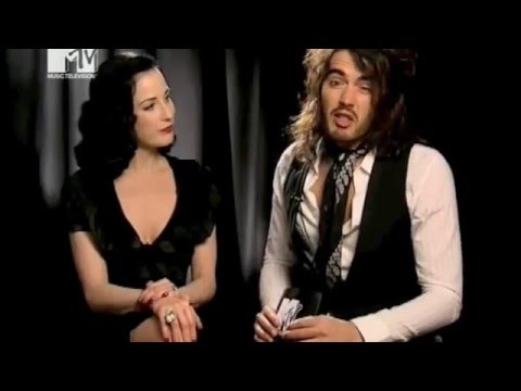 Russell Brand inteviews Dita Von Teese
