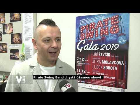 PIRATE SWING Band Gala 2019 - Reportáž TV1 z vokální zkoušky