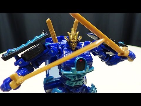 Transformers Age Of Extinction Deluxe Drift: Emgo's Transformers Reviews N' Stuff video