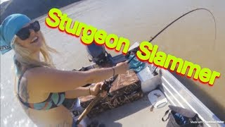 Sturgeon Fishing @ The Forks