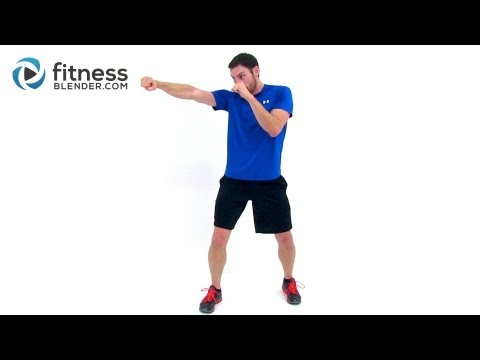 Kickboxing HIIT - Quick Toning & Cardio Kickboxing Workout