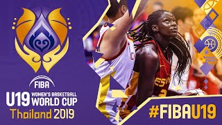 China v Spain - Full Game - FIBA U19 Women's Basketball World Cup 2019