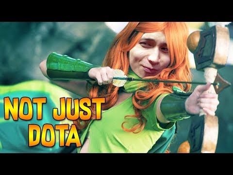 MY TEAMMATE DOESN'T JUST PLAY DOTA ◄ SingSing Dota 2 Moments