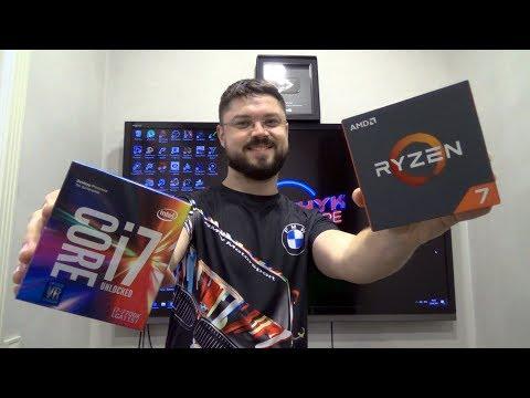 Соний обновляет ПК - AMD Ryzen 7 1800x VS Intel Core i7 7700k + GTX1080ti в гонках и VR Oculus Rift