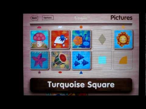 Must Have iPad app for children / toddler / baby ( Puzzle, Color matching, ABC)