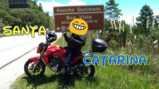 #4 Viagem de moto de São Paulo a Santa Catarina-SC (Twister 250 F) engarupado