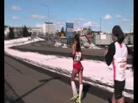 WMACI 2012: 10 kms marcha femeninos