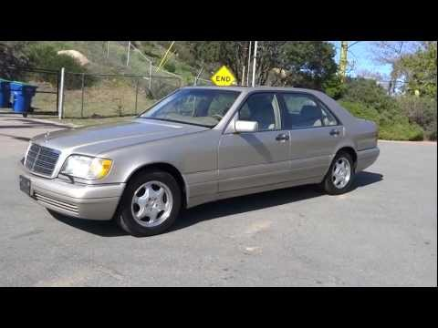 1997 Mercedes Benz S320 W140 S Class Luxury Sedan 1 Owner W 140 Saloon Big Body