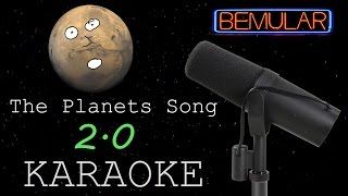 The Planets Song (version 2.0) KARAOKE!
