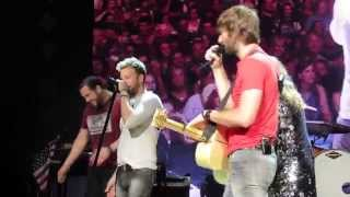 Lady Antebellum Band Intro, W/ Chris Tyrell Drum Solo. Live