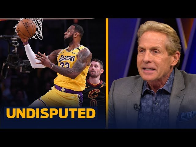 Skip Bayless gives LeBron James an 'A+' for his performance against the Cavaliers | NBA | UNDISPUTED thumbnail