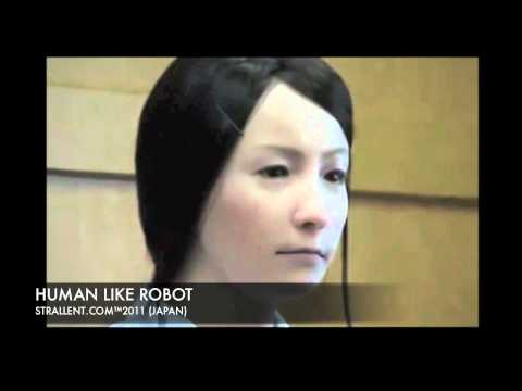 Human Like Female Robot from Japan. Science Fiction became Reality.