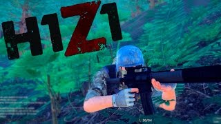 H1Z1 solo! Full game top 10!