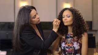 Red Carpet Makeup Tutorial With Thandie Newton  | NET-A-PORTER