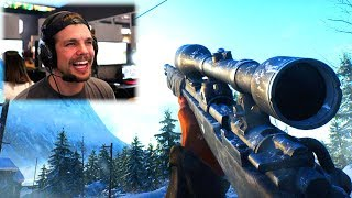 BATTLEFIELD 5: SNIPER GAMEPLAY !! (BF5 Multiplayer Kar98)