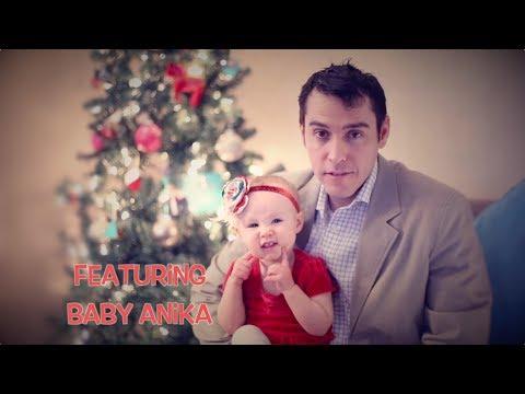A Creech League Christmas Card - Featuring Baby Anika Creech
