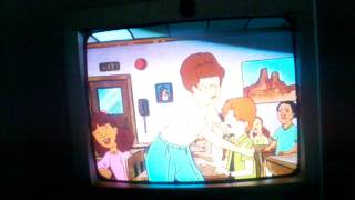 Peggy spanks Dooley!