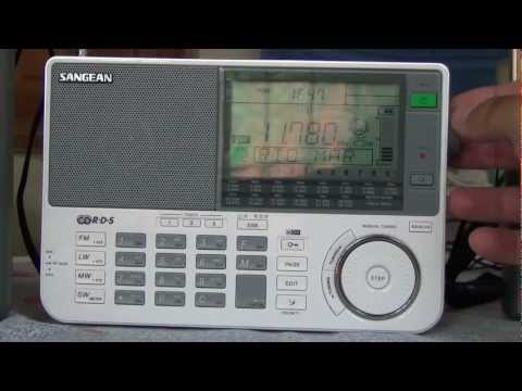 Comparison between 5 Radios Sort Wave.Motoradio Sangean ATS 909X Degen