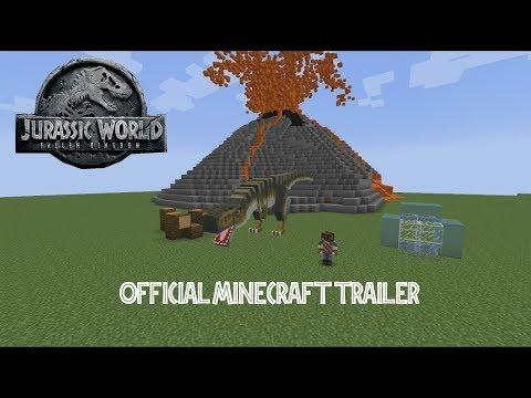 Jurassic World: Fallen Kingdom - Official Minecraft Trailer Español [HD]