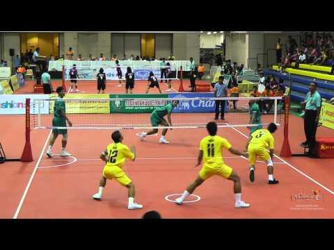 Sepak Takraw Prince Cup 2014 - Navy Vs. Army video