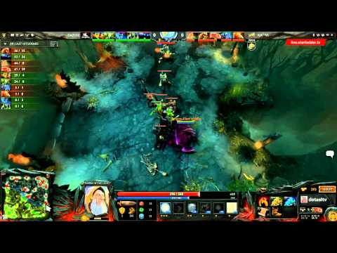 Na`Vi vs Empire, SLTV LAN Finals, WB Semifinal, game 2