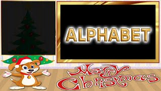 Christmas: Alphabet for baby toddlers