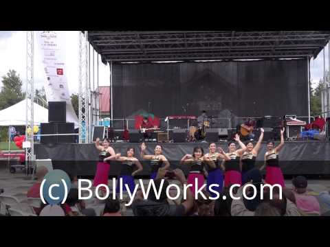 BollyWorks Dance Troupe at Strawberry Festival Seattle 2014