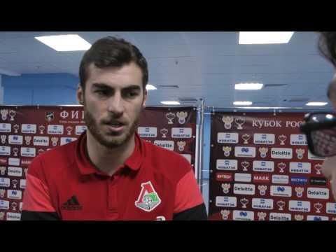 Соломон Кверквелия: хочу остаться в Локомотиве, чтобы вместе бороться за чемпионство