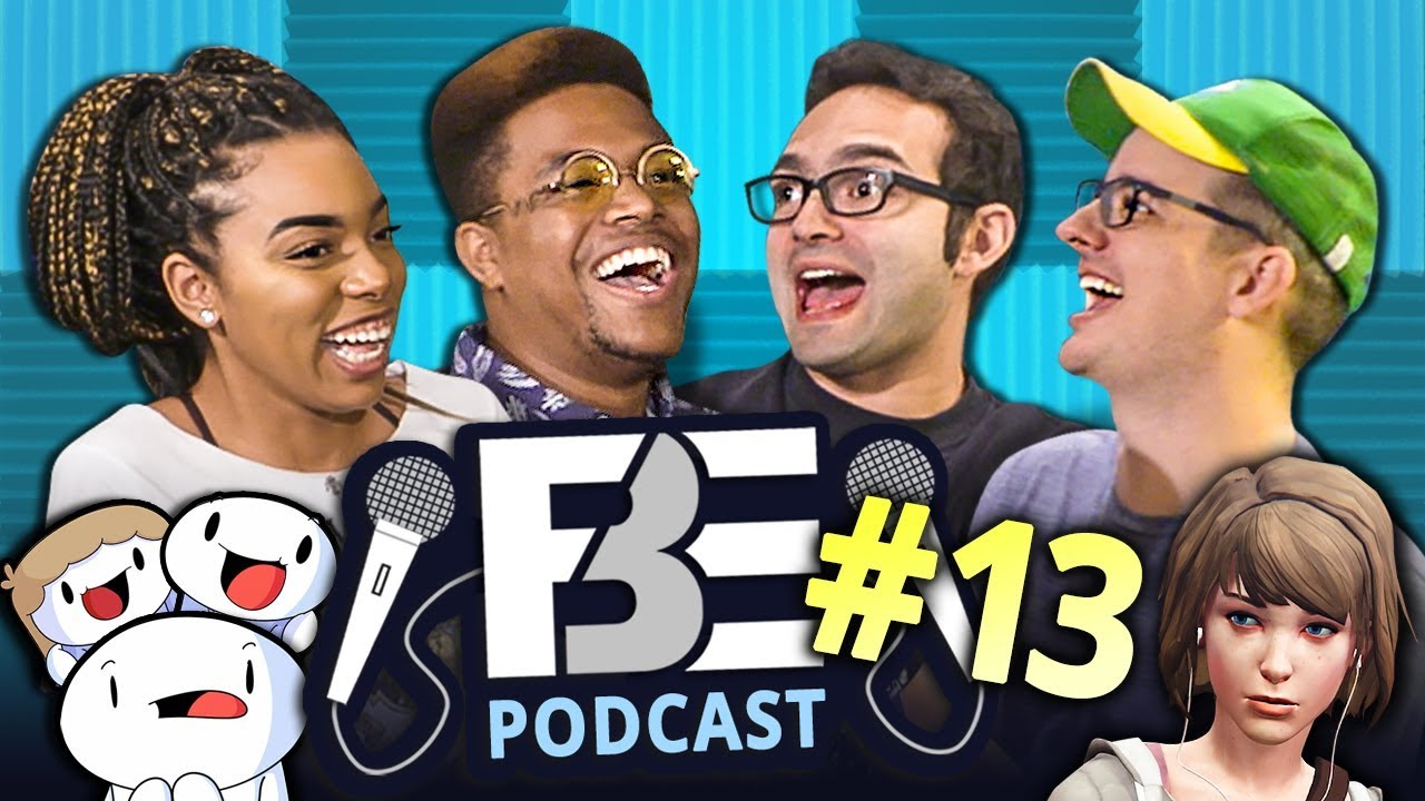 FBE PODCAST | New Let's Plays, Favorite React, Studio Vlogs! (Ep #13)