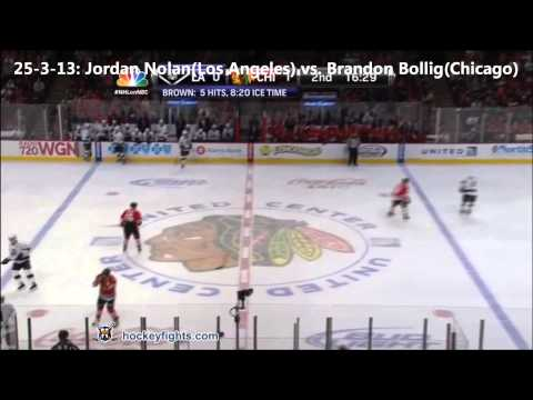 Top Ten NHL Hockey Fights of March 2013 {HD}