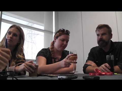 RTX London 2017 RWBY Roundtable With Lindsay, Barbara, Gray, And Kerry
