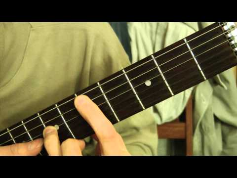 Cours de guitare - The Scorpions : Still Loving You (3/3) Refrain