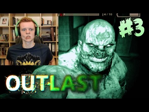 Outlast - GET OUT OF HERE FAT MAN! (Scary/Funny Moments) Part #3