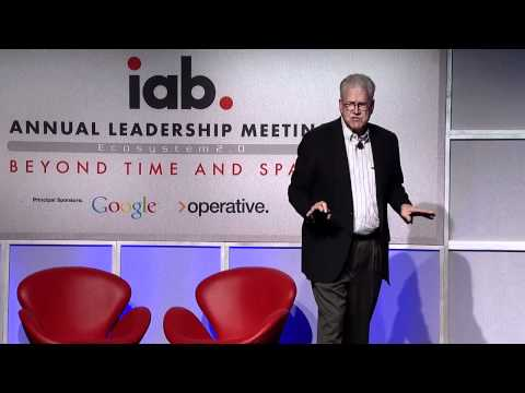 Geoffrey Moore Speaks at the Interactive Advertising Bureau (IAB)