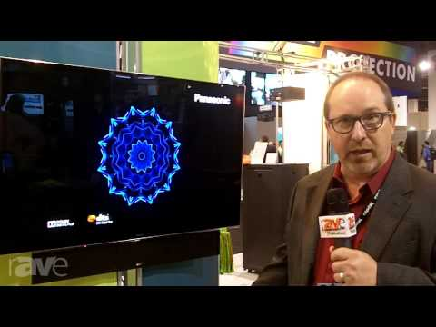 CEDIA 2013: Capital Sales Demos the Panasonic BT Series and Panasonic ZT Series HDTVs
