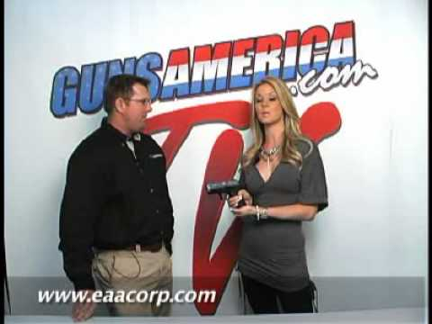 GunsAmerica TV SHOTSHOW 2010 EAA EZ Carry Porta Pistol