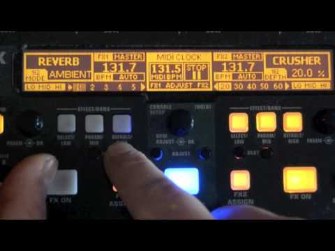 Behringer DDM-4000 Effects test for 4Clubbers.com.pl