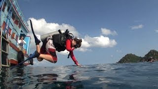 Funny Video - Scuba Divers - Faceplants and Fails Compilation