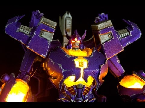 CUSTOM Transformers Prime Voyager Class Action Figure GALVATRON