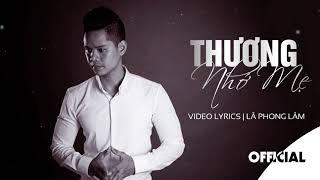 Thương Nhớ Mẹ - Nhạc Chế Lã Phong Lâm | MV Guitar Lyrics